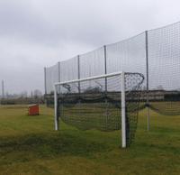 Poarta fotbal din aluminiu,cu fixare speciala,profil oval 10×12 cm 1322 Accesorii Sport